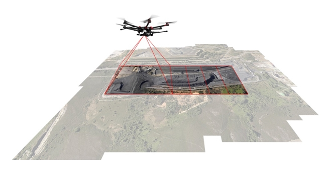 Drones fotogrametría Toledo Madrid Barcelona Sevilla Murcia Valencia Huelva Cádiz