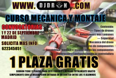 CURSO PILOTO DRONES MONTAJE Y MANTENIMIENTO