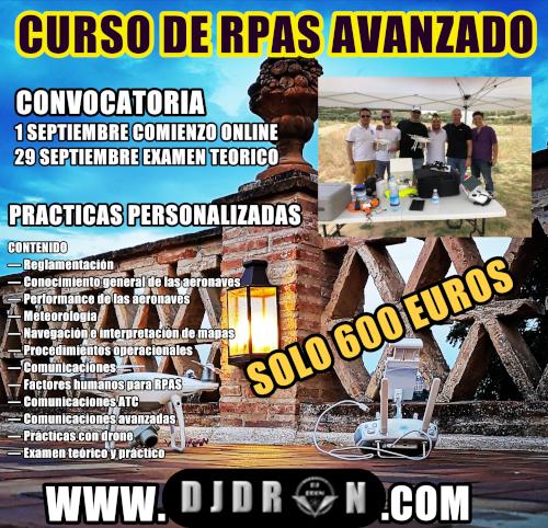 Curso Piloto Drones RPAS