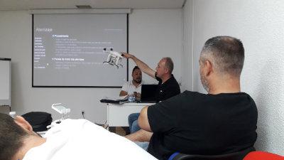 Curso piloto drones