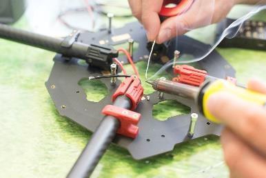 Reparación drones