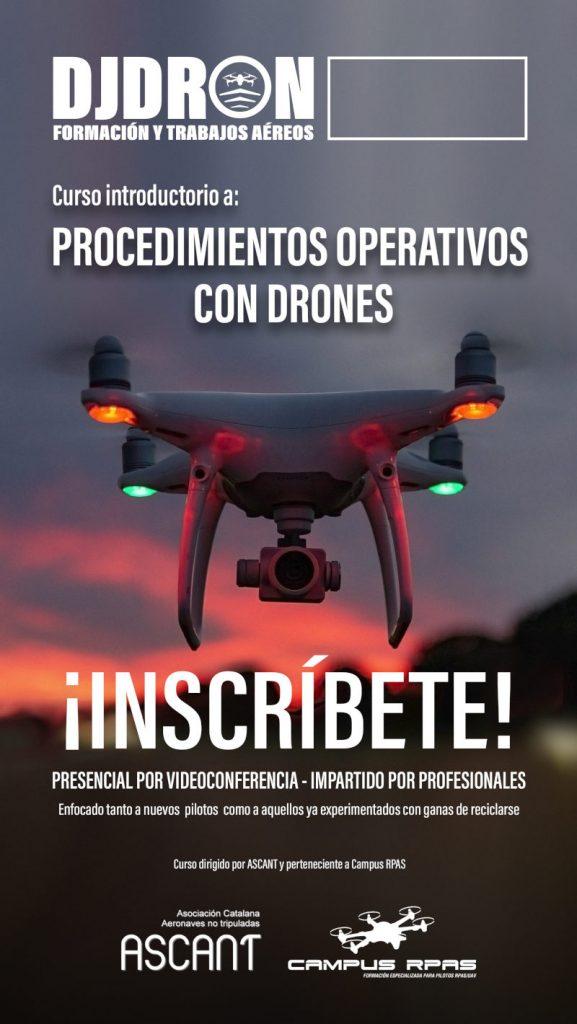 Cursos Procedmientos Operativos Drones